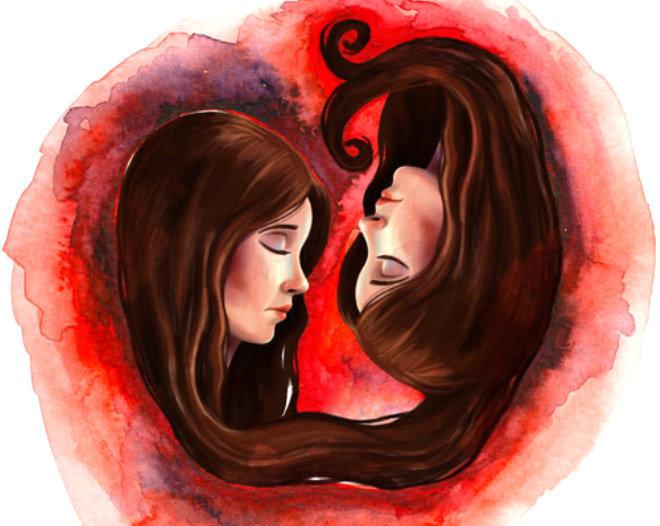близнецы женщина