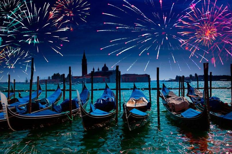 венеция в новый год