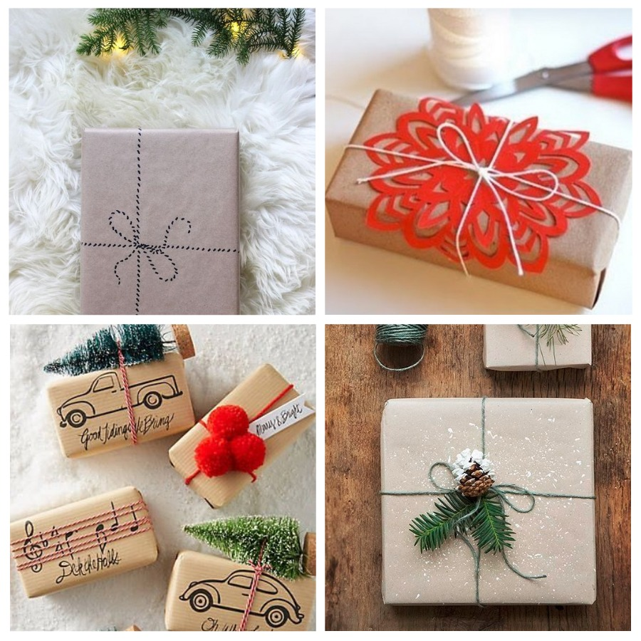 упаковка для новогодних подарков 2019